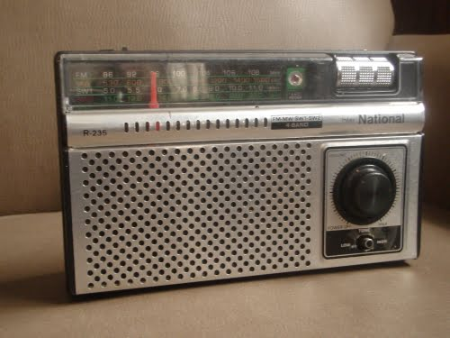 Una Radio National R-235 de la década del 60