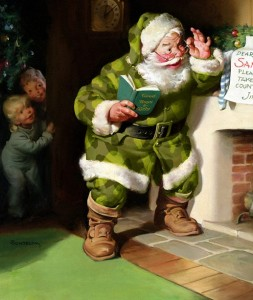 El Santa Claus original es verde.