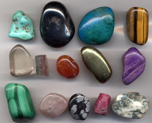 Diversas gemas