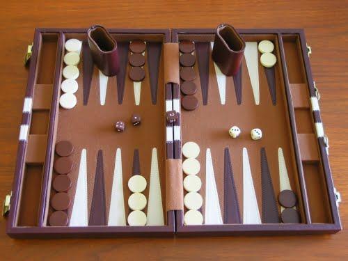 Tablero de Backgammon