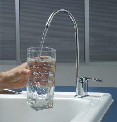 Agua de purificador