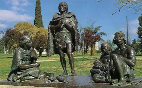Monumento a los indios Charruas