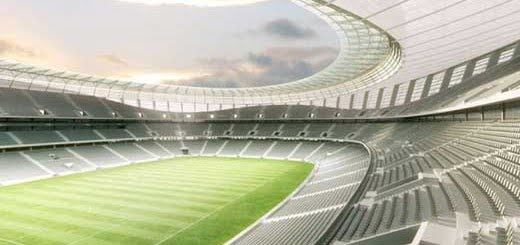 Arquitectura del estadio Green Point
