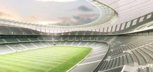 Arquitectura del estadio Green Point