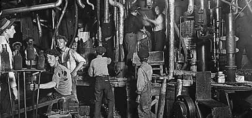 Condiciones laborales en la época de la Revolución Industrial