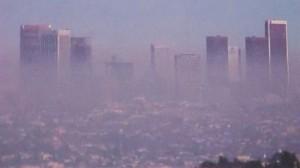 Ciudad que sufre el smog