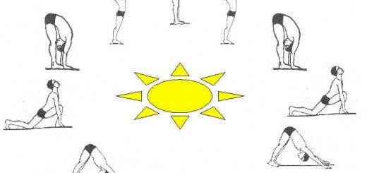 Posturas del saludo al sol