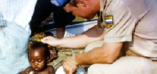 Misión de paz en África