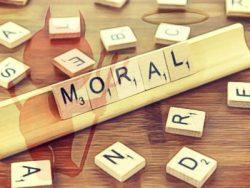 Significado de palabra moral